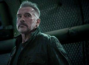 Jeden z kadrów filmu Terminator Mroczne przeznaczenie