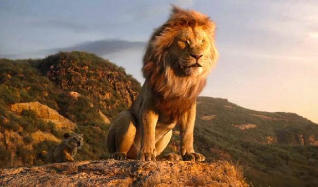 Kadr z filmu Król Lew 2019 (Online)